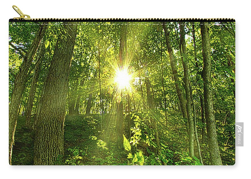 Life Carry-all Pouch featuring the photograph My Secret Place by Phil Koch