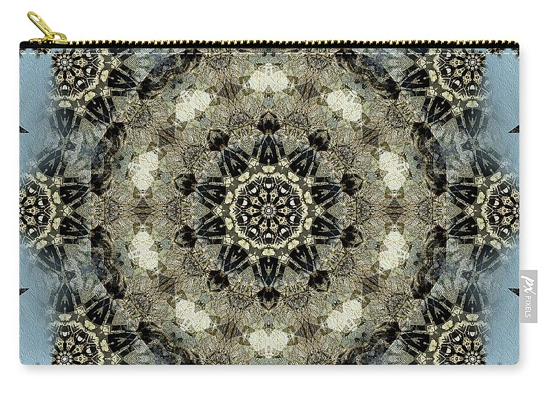 Mandala Carry-all Pouch featuring the mixed media Mystic Mandala by Natalie Holland