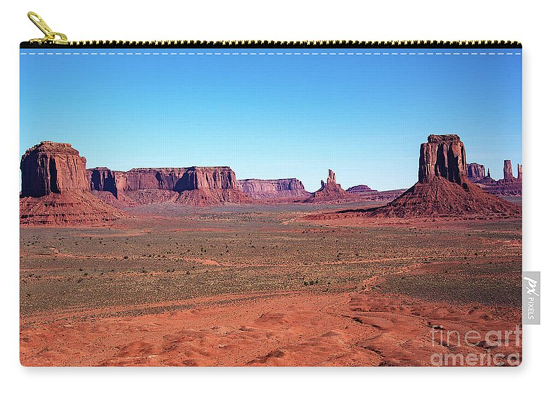 Nature At Work Carry-all Pouch featuring the photograph Nature At Work by Mae Wertz