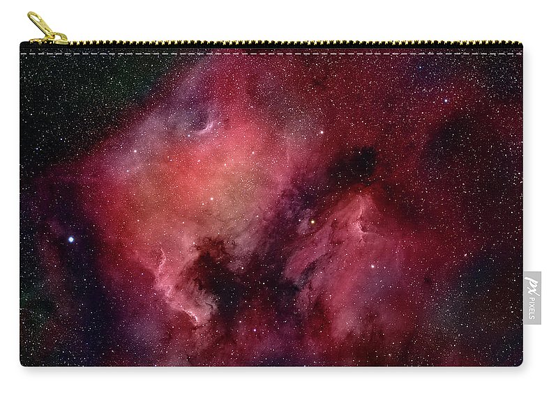 Majestic Carry-all Pouch featuring the photograph Nebulae In Cygnus by Plefevre