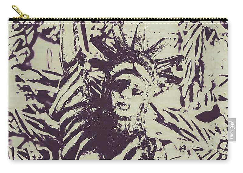 Icon Carry-all Pouch featuring the photograph Neoclassical Lady Landmark by Jorgo Photography - Wall Art Gallery