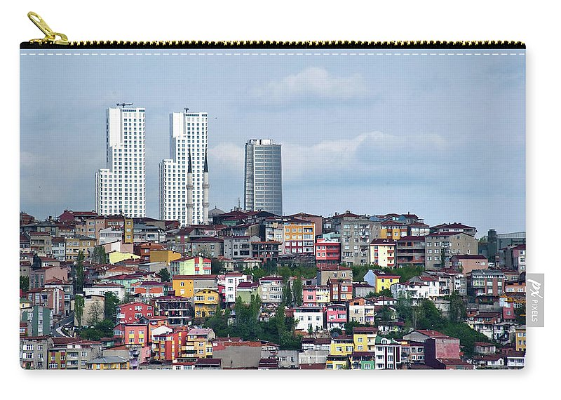 Istanbul Carry-all Pouch featuring the photograph New Istanbul by Alain Bachellier