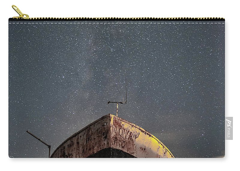 Milkyway Carry-all Pouch featuring the photograph New Life Milkway by Mark Mc neill