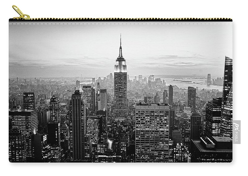 Outdoors Carry-all Pouch featuring the photograph New York City by Randy Le'moine
