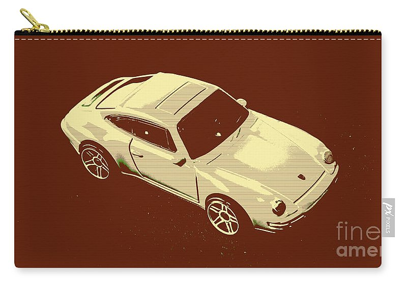 Sportcars Carry-all Pouch featuring the photograph Nineties Retro by Jorgo Photography - Wall Art Gallery