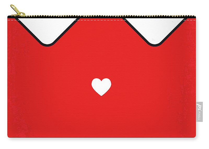 Annie Carry-all Pouch featuring the digital art No1027 My Annie Minimal Movie Poster by Chungkong Art
