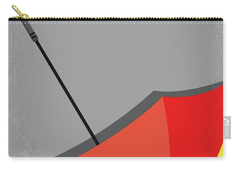 Pleasantville Carry-all Pouch featuring the digital art No990 My Pleasantville Minimal Movie Poster by Chungkong Art