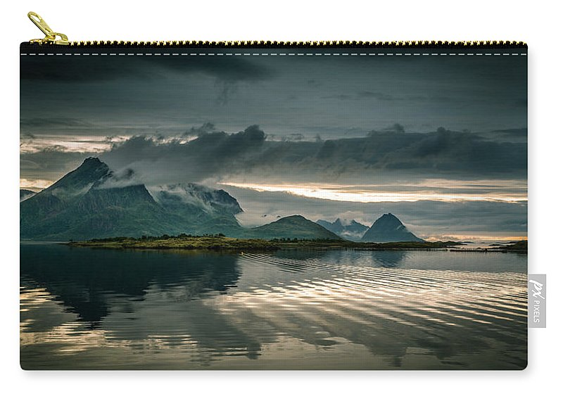 Tranquility Carry-all Pouch featuring the photograph Norway Landscape by Nature And Beauty Photographer