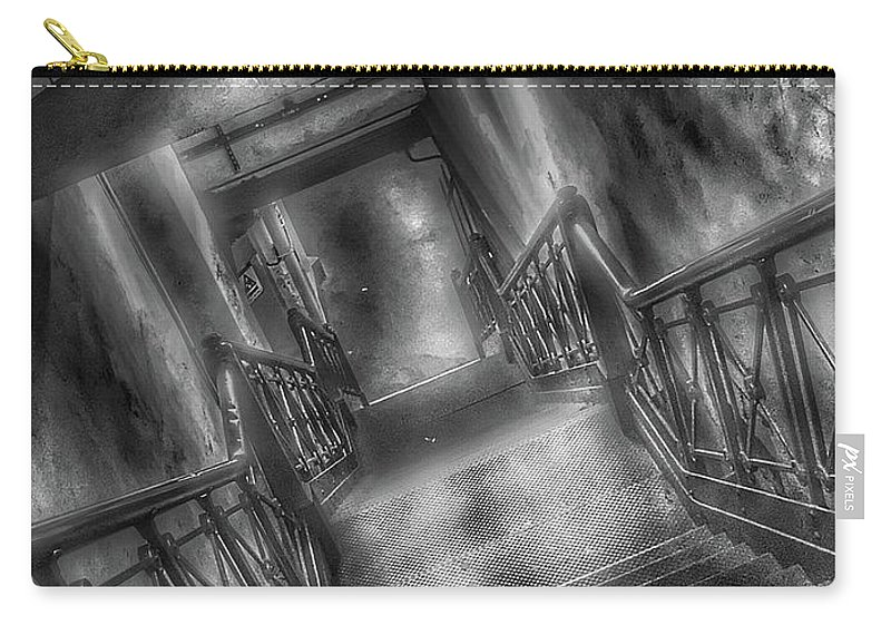 Photography Carry-all Pouch featuring the photograph New York Subway Zone by Debbie Tlach