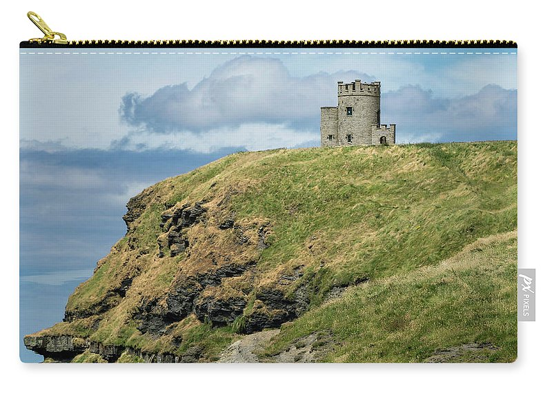 Ireland Carry-all Pouch featuring the photograph O'brien's Tower by Claudia Kuhn