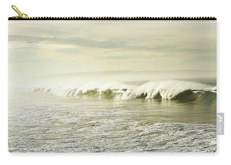 Pismo Beach Carry-all Pouch featuring the photograph Ocean At Sunrise by Kevinruss