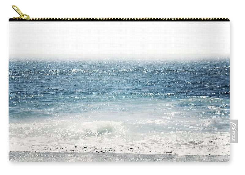 Ocean Carry-all Pouch featuring the photograph Ocean Dreams- Art By Linda Woods by Linda Woods