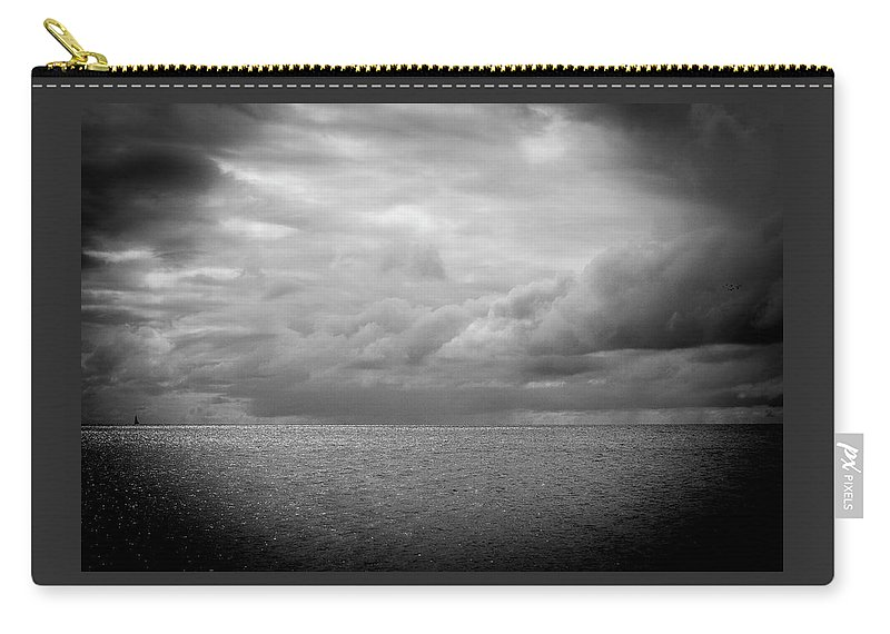 Photography Carry-all Pouch featuring the photograph Offshore by Sharon Mayhak