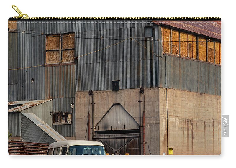 Dodge Carry-all Pouch featuring the photograph Old Dodge Truck by Jim Allsopp