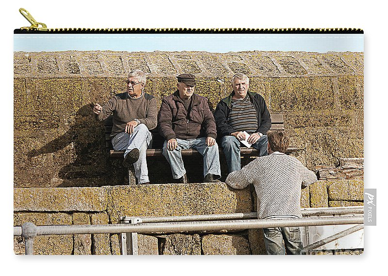Senior Citizens Carry-all Pouch featuring the photograph Old Friends by Terri Waters