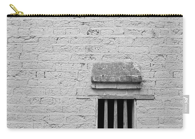 Toughness Carry-all Pouch featuring the photograph Old Prison by Blackred