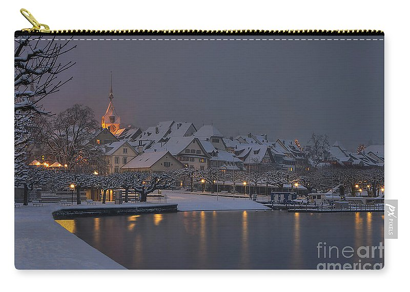 Town Carry-all Pouch featuring the photograph Old Town Zug by Caroline Pirskanen