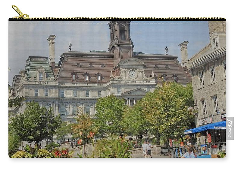 Olde Montreal Carry-all Pouch featuring the photograph Olde Montreal by David Gorman