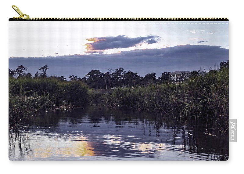 Bluff Carry-all Pouch featuring the photograph On The Bluff by Victoria Williams
