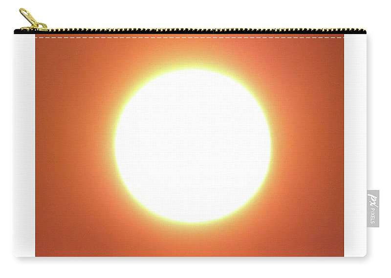 Sunrise Carry-all Pouch featuring the photograph Orange Blast by Glen Fraser