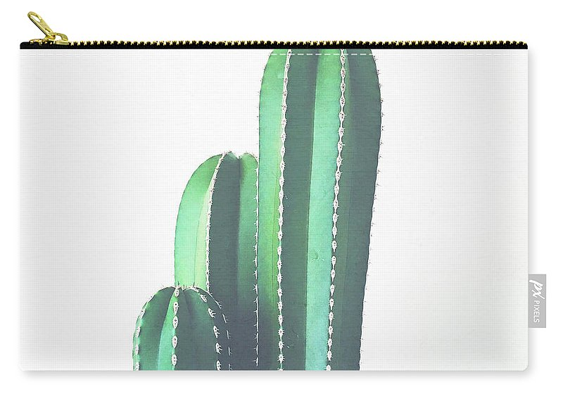 Cactus Carry-all Pouch featuring the photograph Organ Pipe Cactus by Cassia Beck