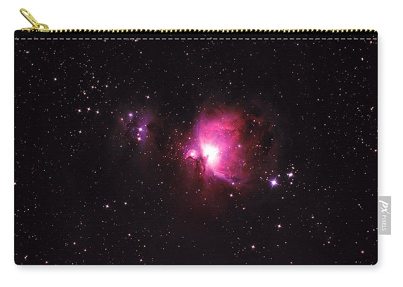 Natural Gas Carry-all Pouch featuring the photograph Orion Nebula by Plefevre