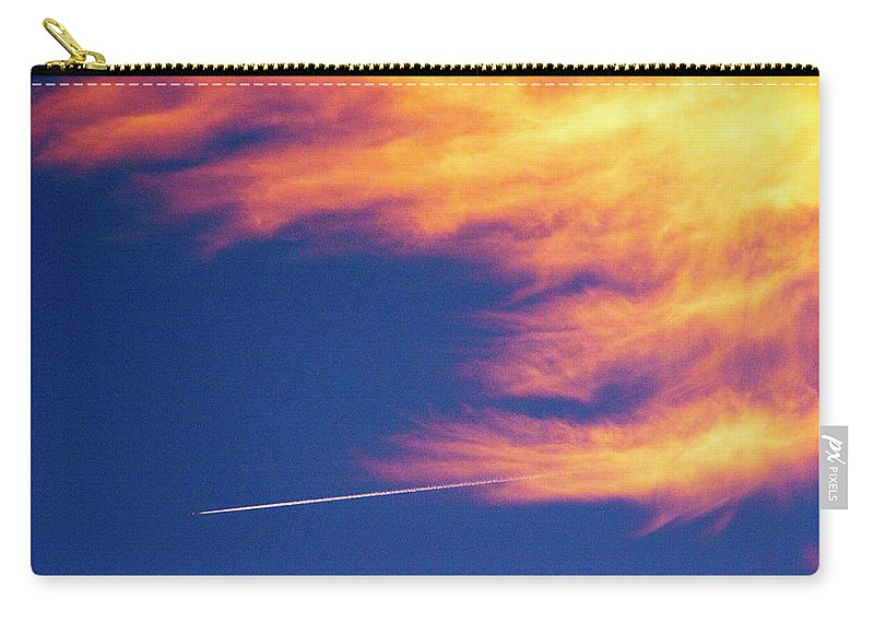 D1-l-1076-d Carry-all Pouch featuring the photograph Out Racing The Devil by Paul W Faust - Impressions of Light