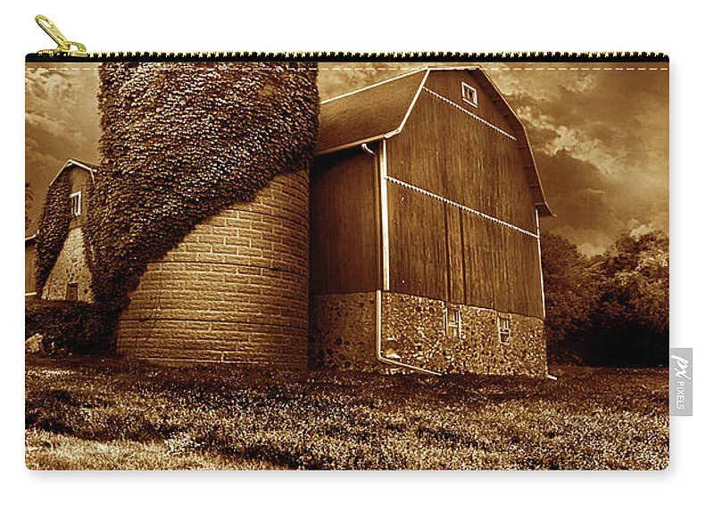 Life Carry-all Pouch featuring the photograph Over Time by Phil Koch