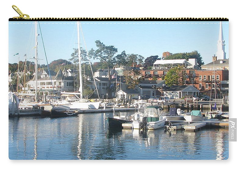 Camden Harbor Carry-all Pouch featuring the photograph Photo #89 by Suzanne Buckland