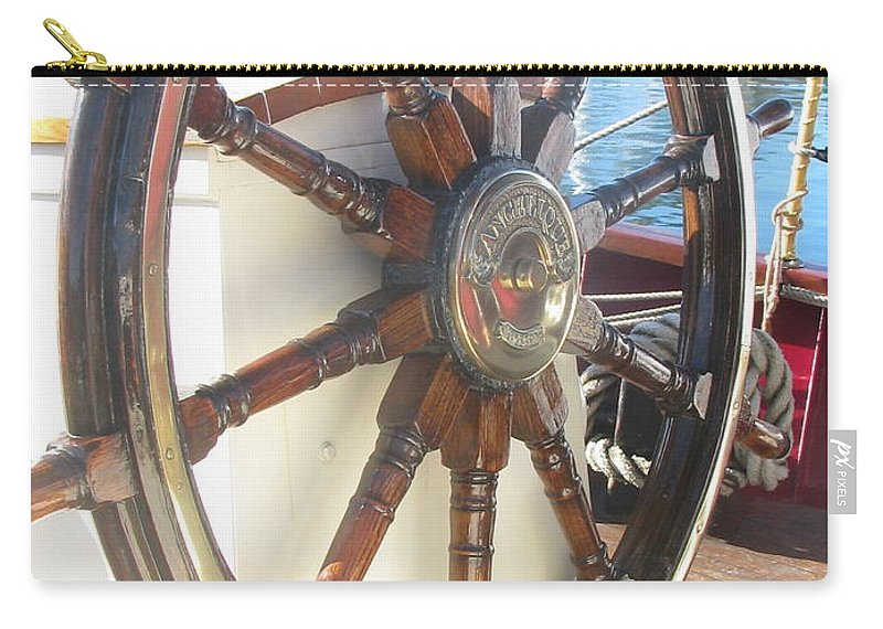 Wheel Carry-all Pouch featuring the photograph Photo #93 by Suzanne Buckland