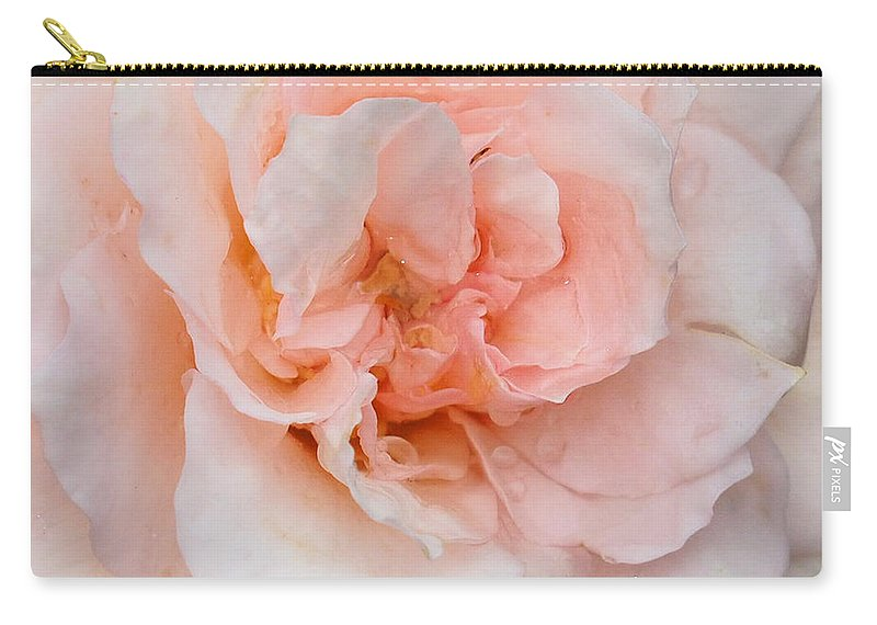 Pink Carry-all Pouch featuring the photograph Pink Pedals by Raymond Earley