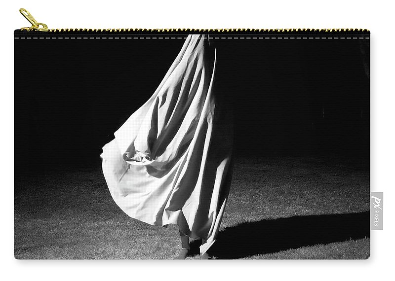 Shadow Carry-all Pouch featuring the photograph Poem Of A Dead Song by Lauralani