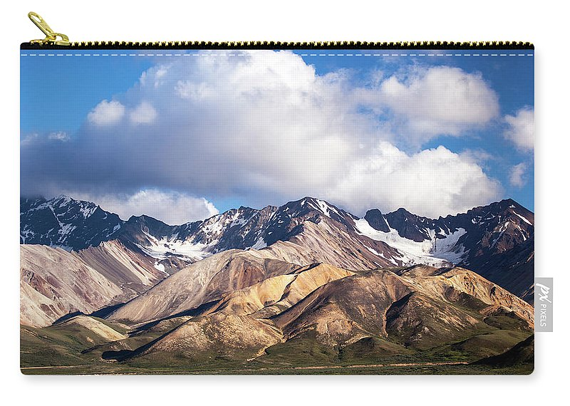 Tranquility Carry-all Pouch featuring the photograph Polychrome Overlook View by Daniel A. Leifheit