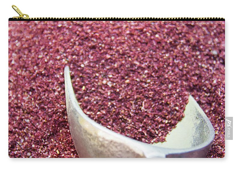 Spice Carry-all Pouch featuring the photograph Powder Spices by Lluís Vinagre - World Photography