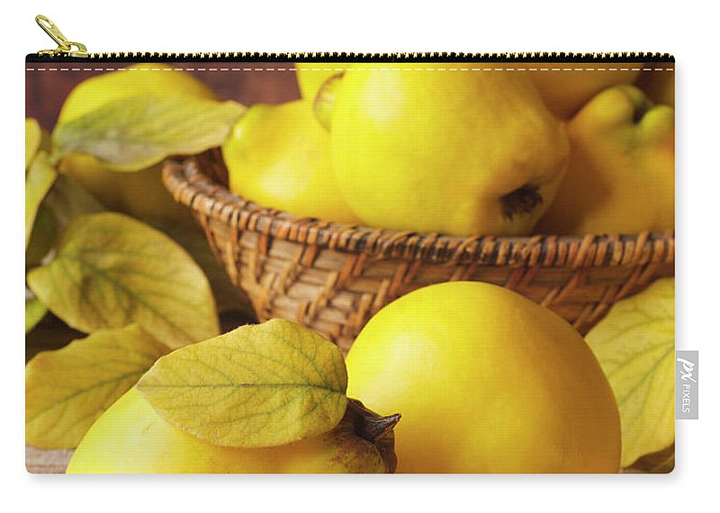 Quince Carry-all Pouch featuring the photograph Quinces by Syolacan