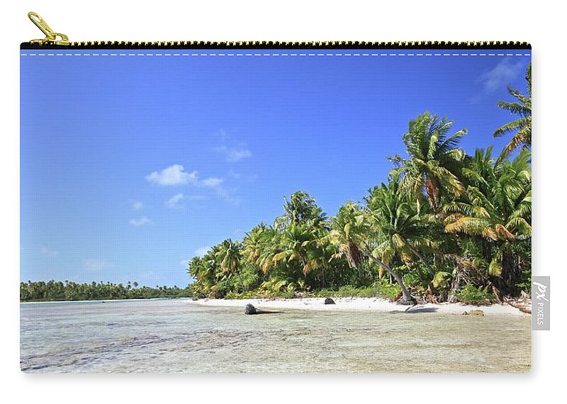Tranquility Carry-all Pouch featuring the photograph Rangiroa - Isola Dei Coralli - Reef Isl by Loving And Living In This Planet