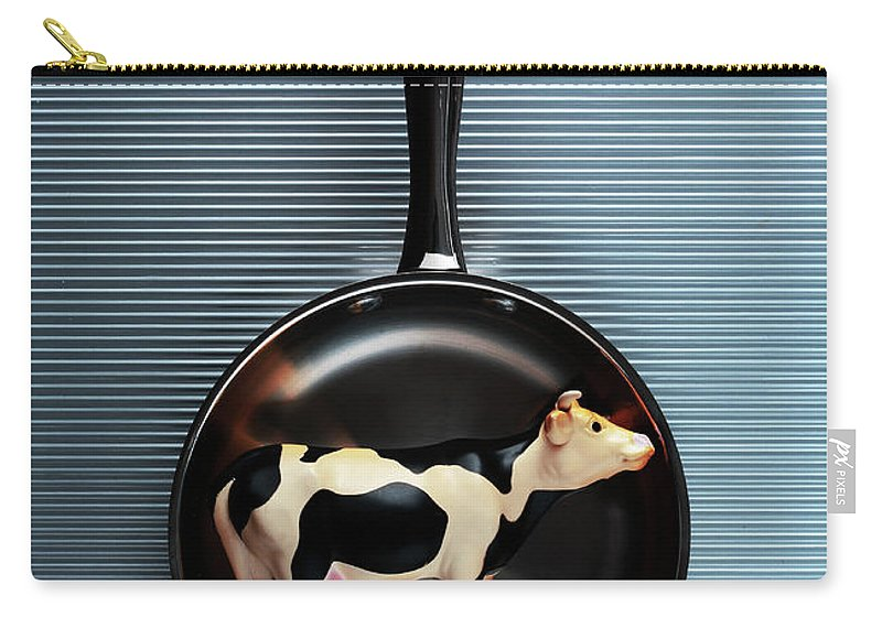 Concepts & Topics Carry-all Pouch featuring the photograph Raw Steak by Thepalmer