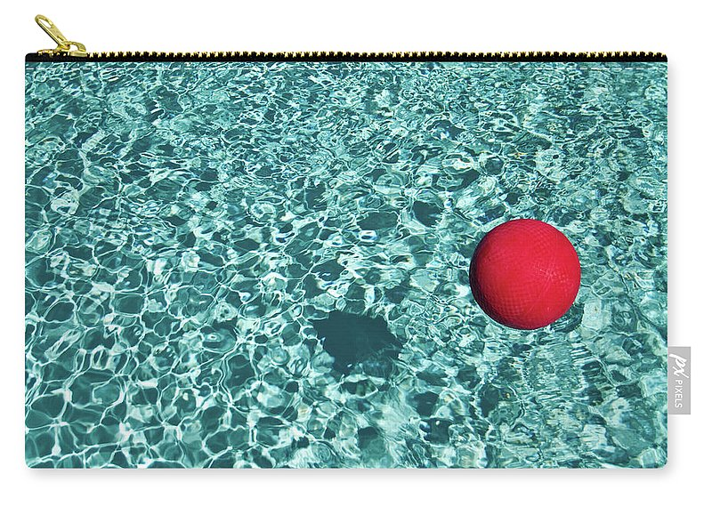 Ball Carry-all Pouch featuring the photograph Reflection by Mark A Paulda