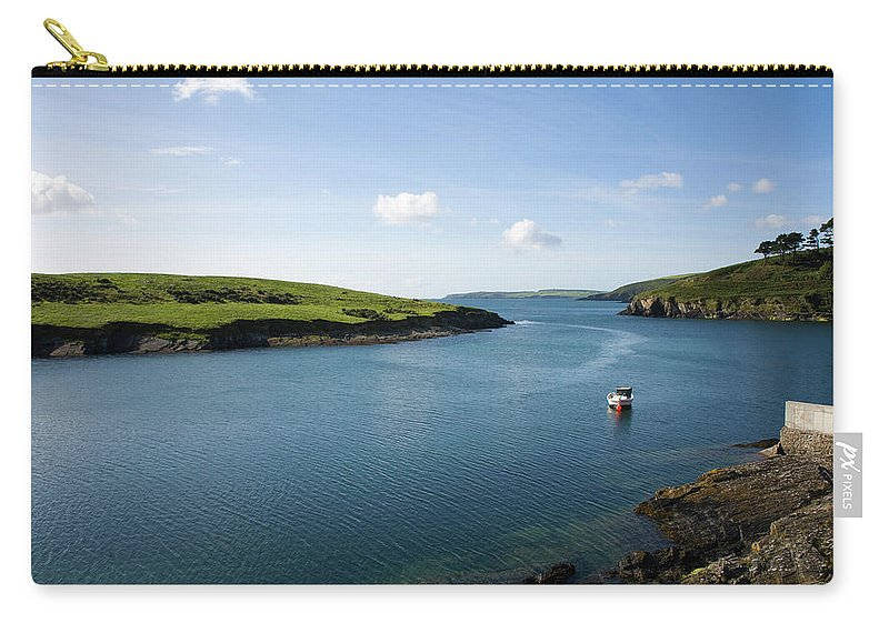 Scenics Carry-all Pouch featuring the photograph Republic Of Ireland, County Cork, Inlet by David Epperson