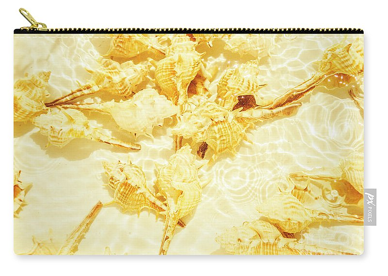 Water Carry-all Pouch featuring the photograph Resort Ripples by Jorgo Photography - Wall Art Gallery