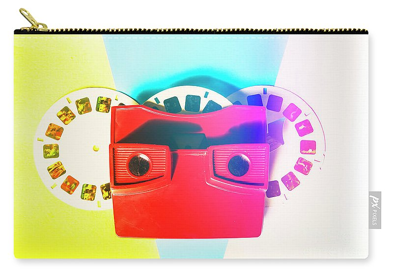 Reel Carry-all Pouch featuring the photograph Retro Reel by Jorgo Photography - Wall Art Gallery