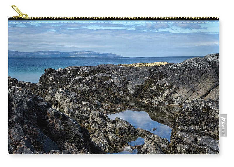 Ireland Carry-all Pouch featuring the photograph Rocky Coast by Claudia Kuhn