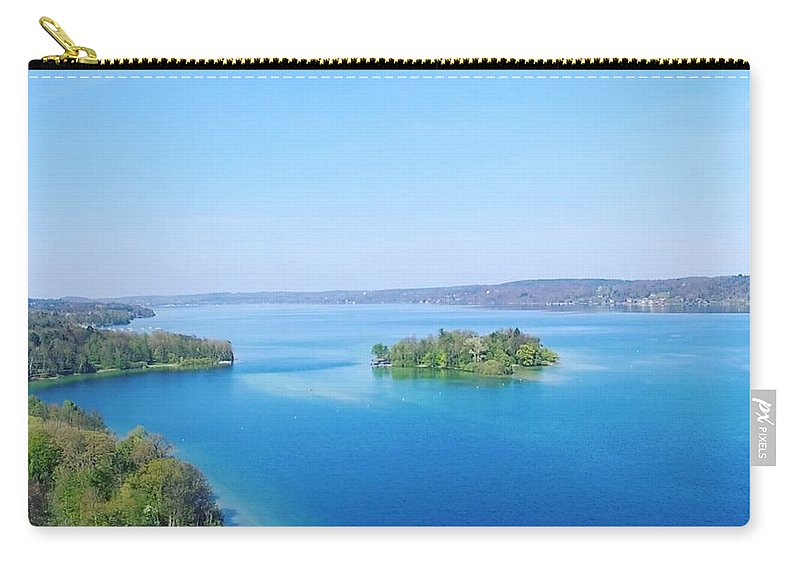 Starnberg Carry-all Pouch featuring the photograph Roseisland by Daniel Hornof