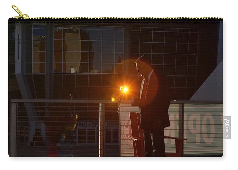 Prism Photography Carry-all Pouch featuring the photograph Sacramento Light by Steven Wirth
