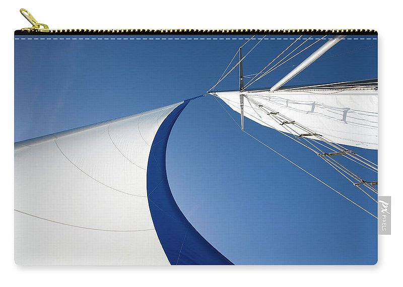 Curve Carry-all Pouch featuring the photograph Sailing by Tammy616