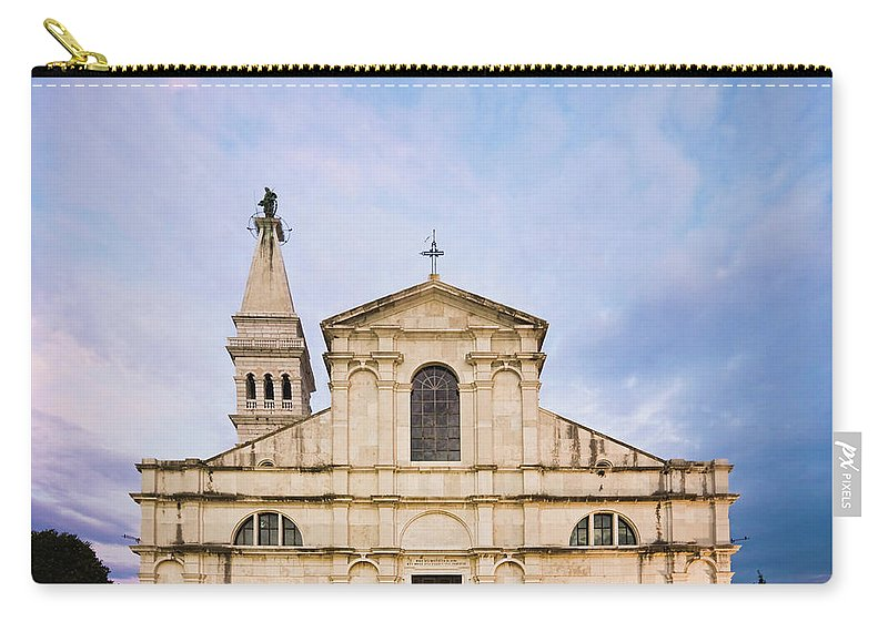 Outdoors Carry-all Pouch featuring the photograph Saint Euphemia Church by David Madison
