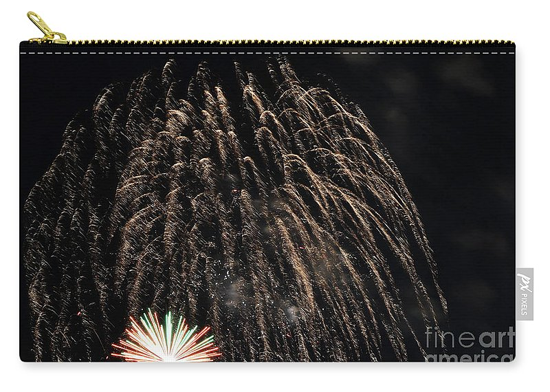 2018 Fourth Of July Carry-all Pouch featuring the photograph Saint Louis Riverfront 4th Of July by Carol Jackson