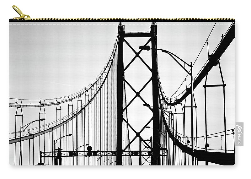 Pole Carry-all Pouch featuring the photograph San Francisco by Znz