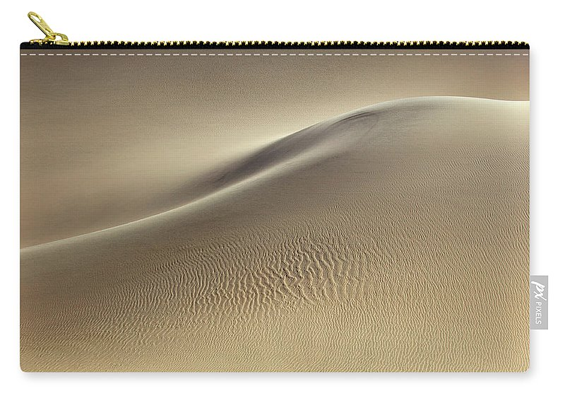 Sand Dune Carry-all Pouch featuring the photograph Sand Dunes by Rob Kroenert