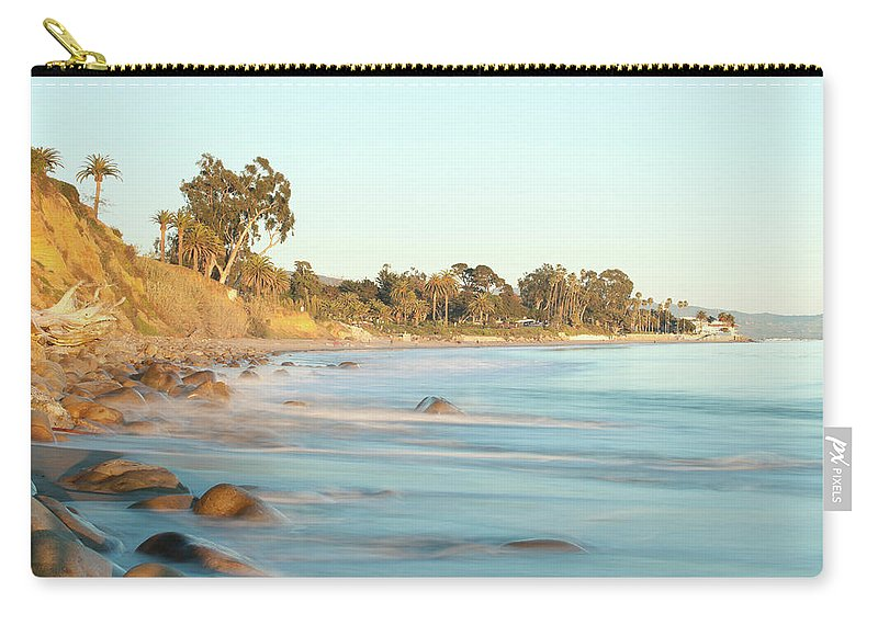 Water's Edge Carry-all Pouch featuring the photograph Santa Barbara by Andrewhelwich